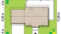 Минимальные размеры участка для проекта Z345