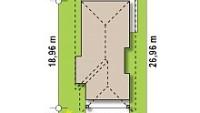 Минимальные размеры участка для проекта Z363