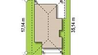 Минимальные размеры участка для проекта Z366