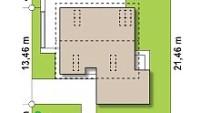 Минимальные размеры участка для проекта Z371