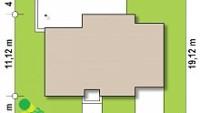 Минимальные размеры участка для проекта Z375