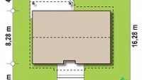Минимальные размеры участка для проекта z7 dk