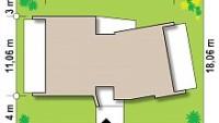 Минимальные размеры участка для проекта zx180
