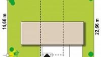 Минимальные размеры участка для проекта Zx97
