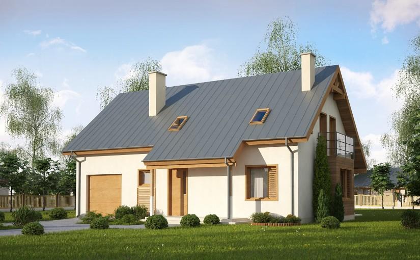 Проект дома Z162 Gl