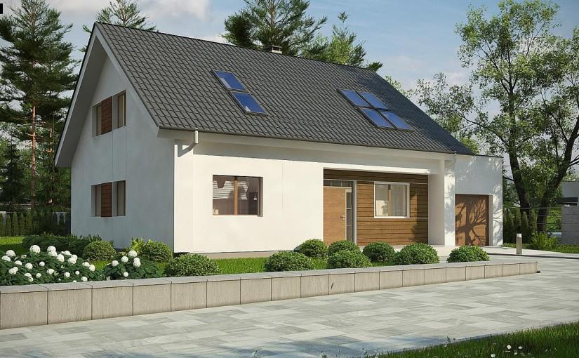 Проект дома Z266 A