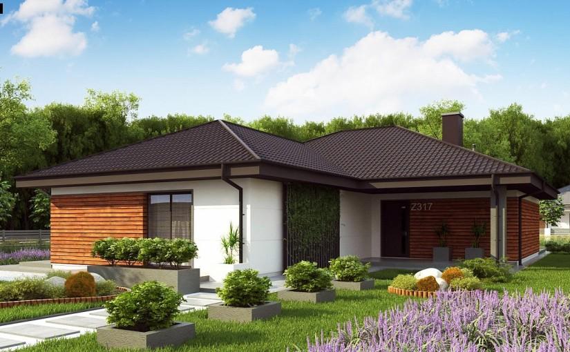 Проект дома Z317