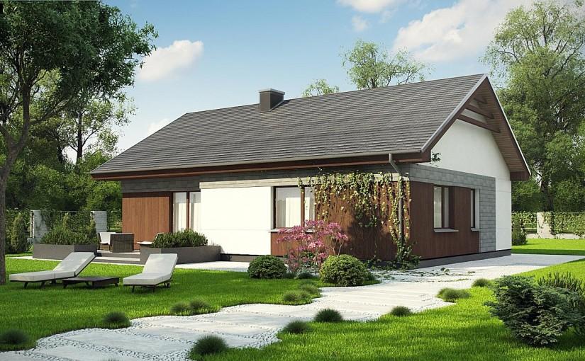 Проект дома Z334