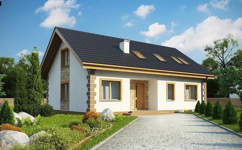 Проект дома Z343