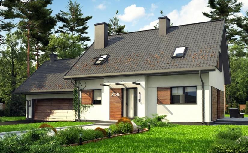 Проект дома Z345