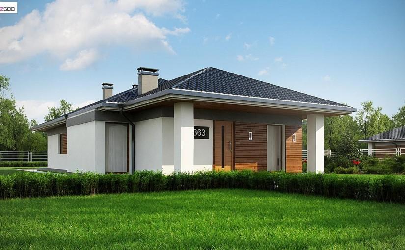 Проект дома Z363