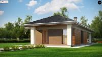 Проект дачного дома Z366