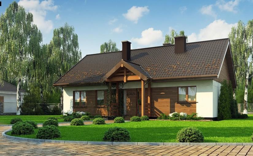 Проект дома Z369 D