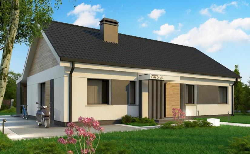 Проект дома Z376 35