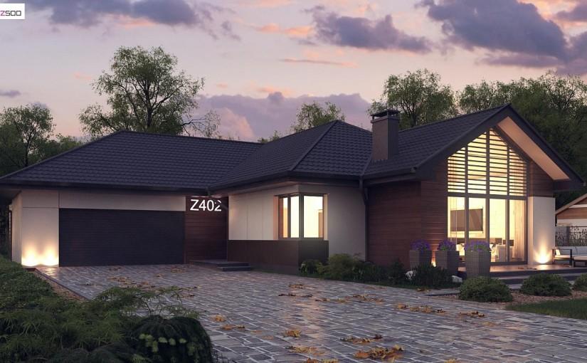 Проект дома Z402