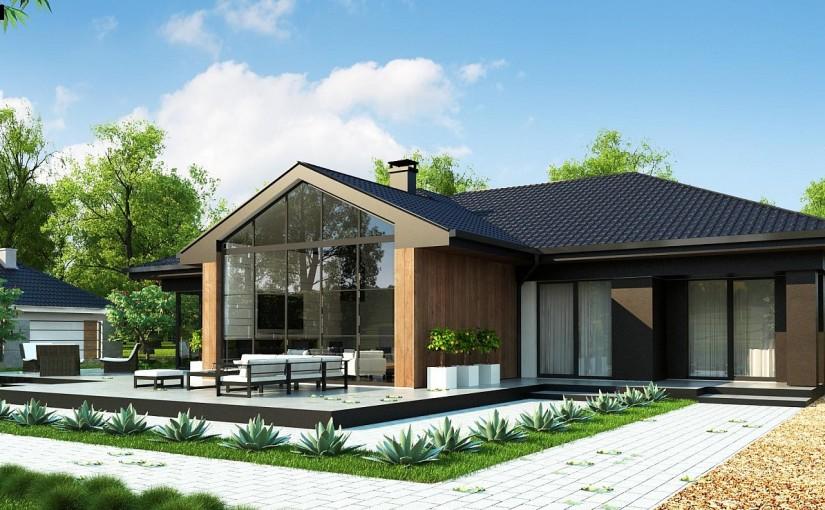 Проект дома Z406