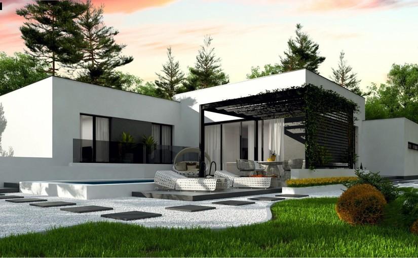 Проект дома zx141