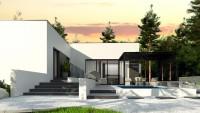 Проект дома zx141 Фото 1