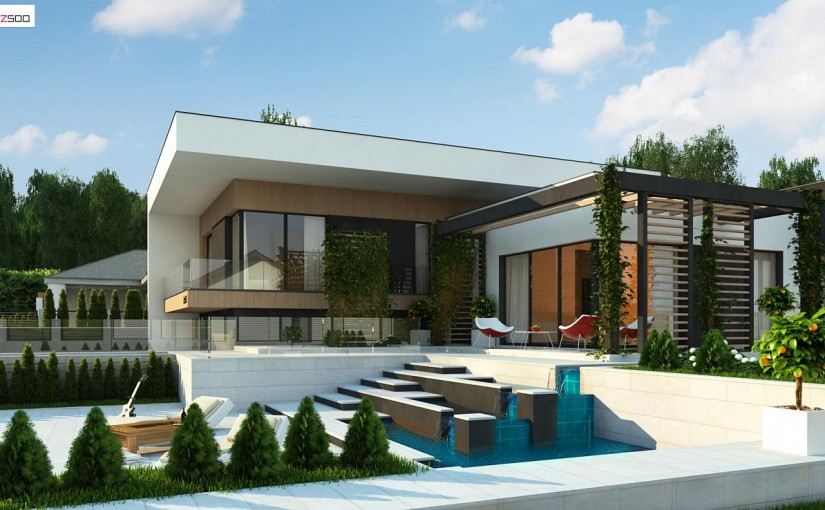 Проект дома Zx151