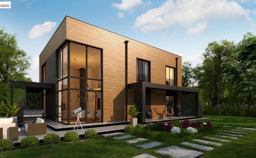 Проект дома Zx93