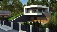 Проект дома Zx97 Фото 1