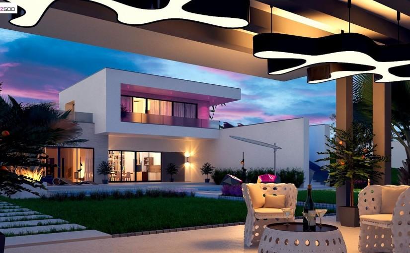 Проект дома Zx98