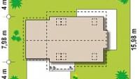 Минимальные размеры участка для проекта Z101 GL