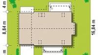 Минимальные размеры участка для проекта Z162 GLv2