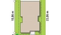 Минимальные размеры участка для проекта z328