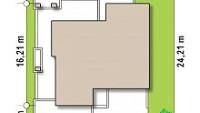 Минимальные размеры участка для проекта Zx132
