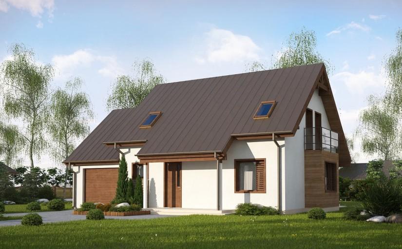 Проект дома Z162 GLv2
