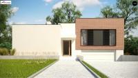 Проект дома Zx132 Фото 1