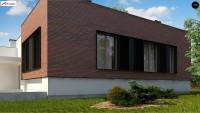 Проект дома Zx132 Фото 3