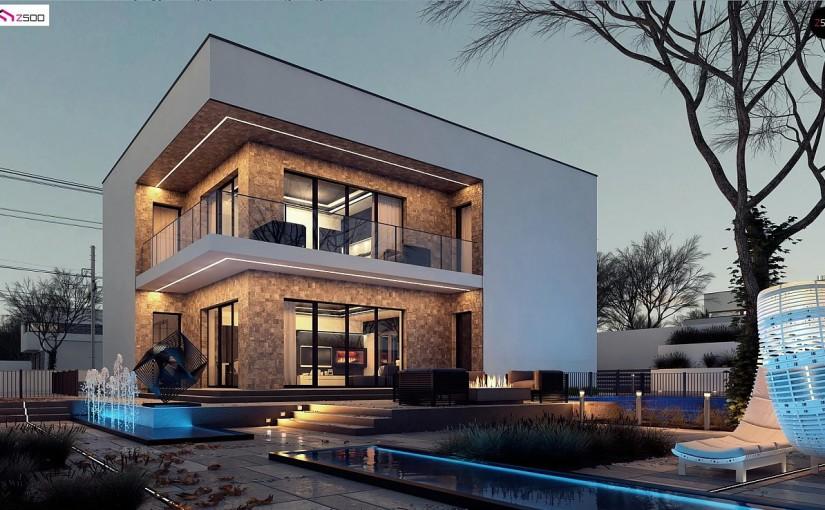 Проект дома Zx82