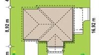 Минимальные размеры участка для проекта Z73 L GL