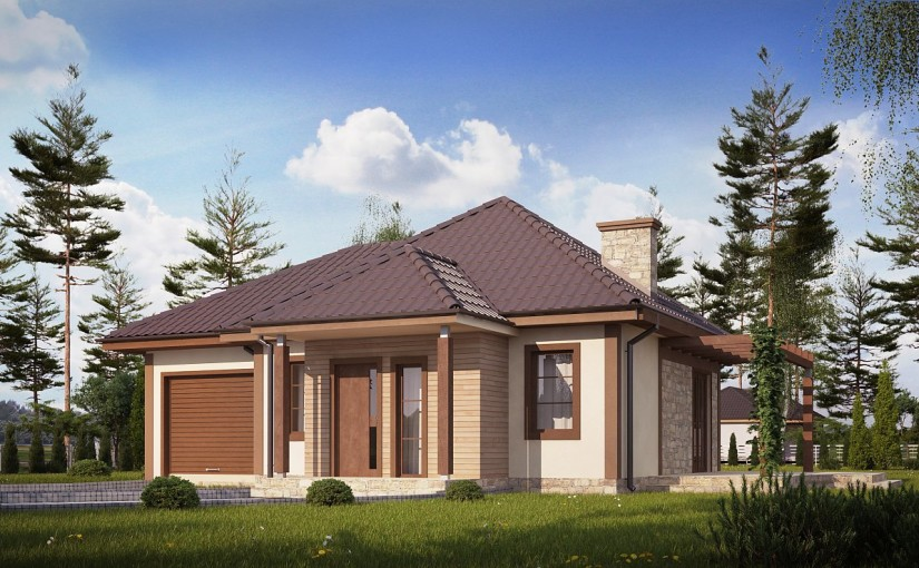 Проект дома Z73 L GL