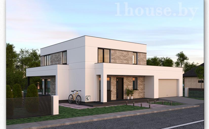 Проект дома B-1
