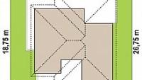 Минимальные размеры участка для проекта Z441