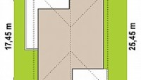 Минимальные размеры участка для проекта Z443