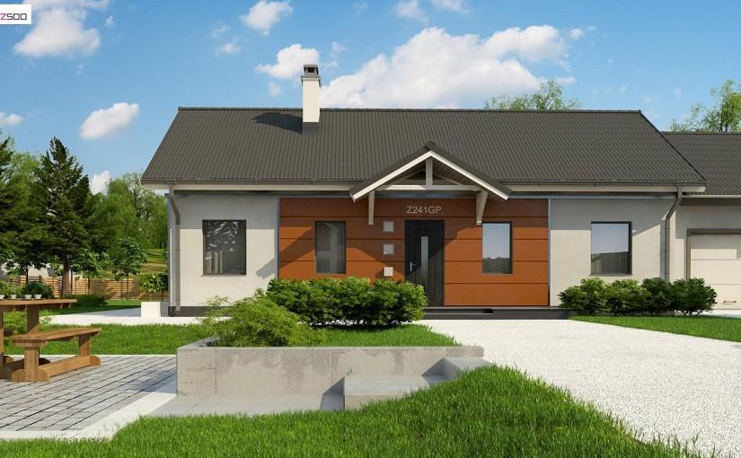 Проект дома Z241 GP