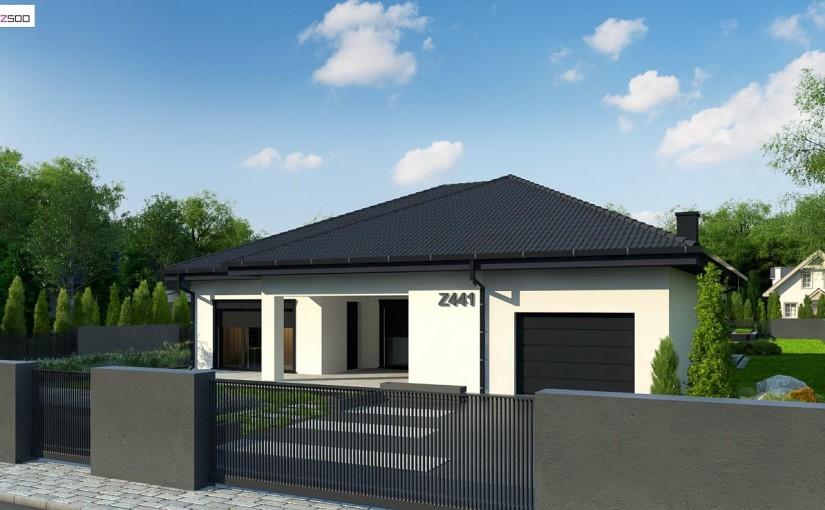 Проект дома Z441