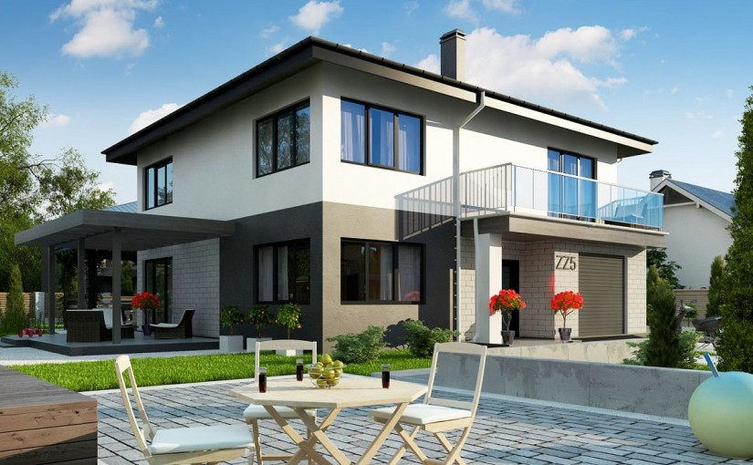 Проект дома Zz5