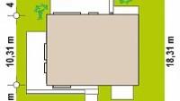 Минимальные размеры участка для проекта Z391