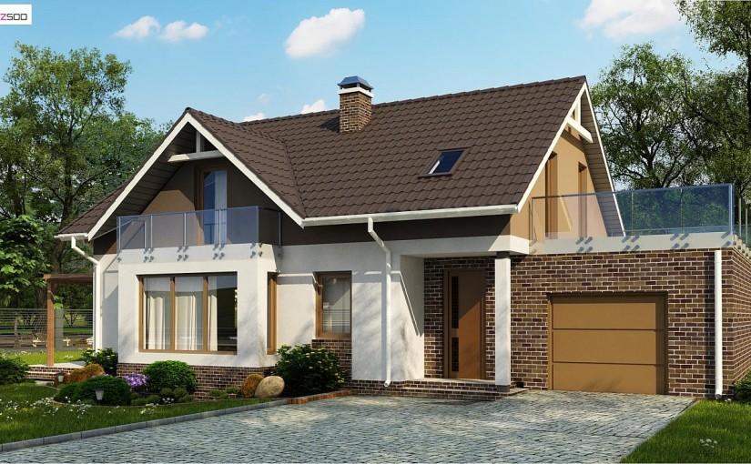 Проект дома Z128GP