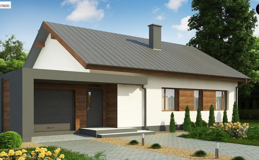 Проект дома Z182GL P HB