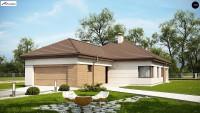 Проект дома Z195 GF2 HB