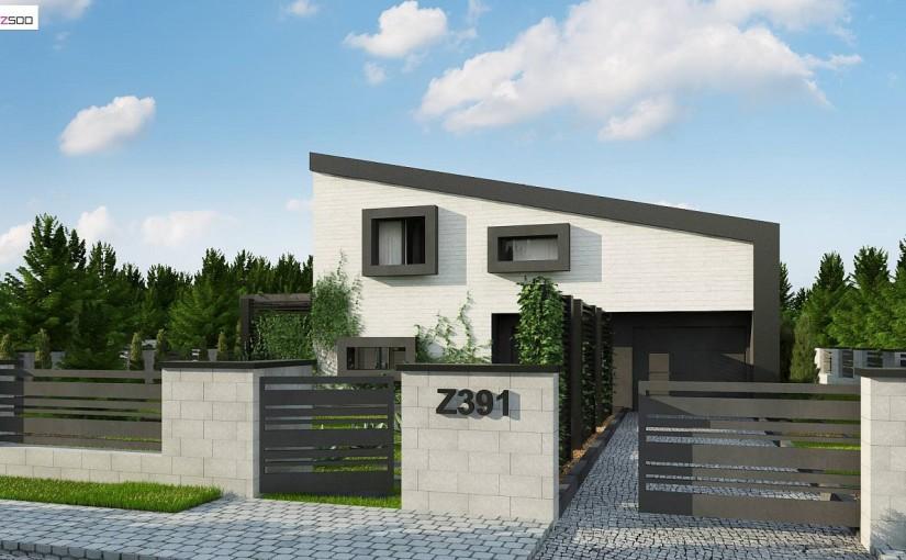 Проект дома Z391