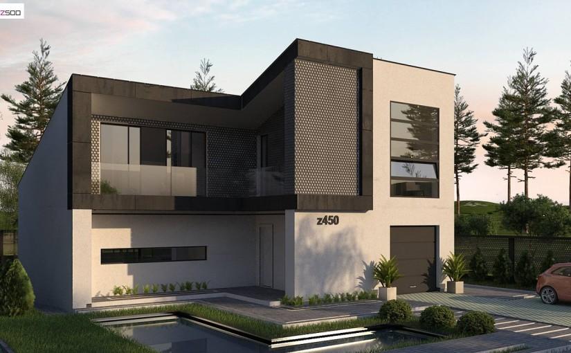 Проект дома Z450