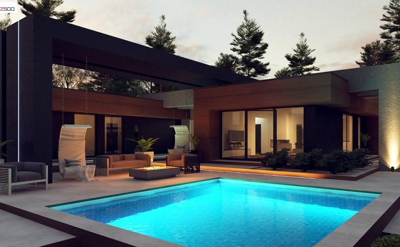 Проект дома Zx158