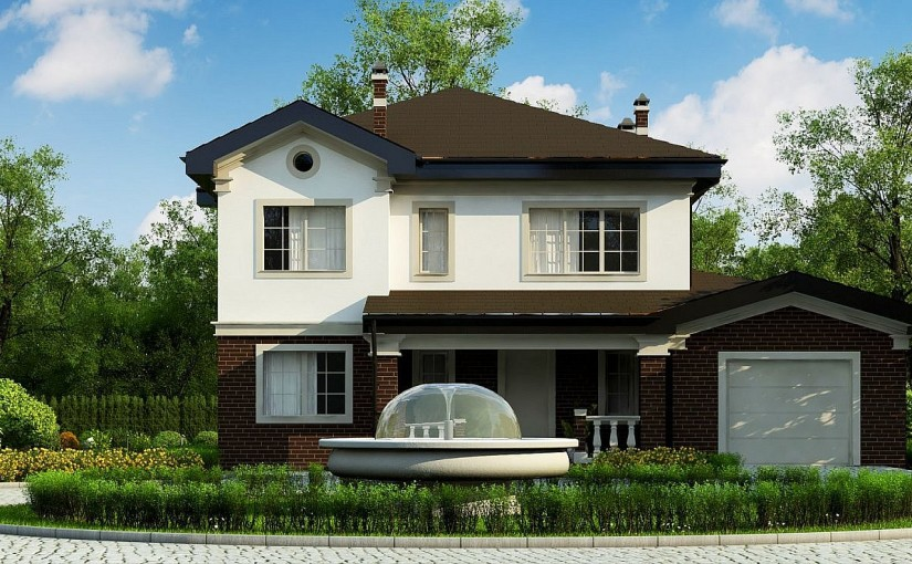 Проект дома ZZ2